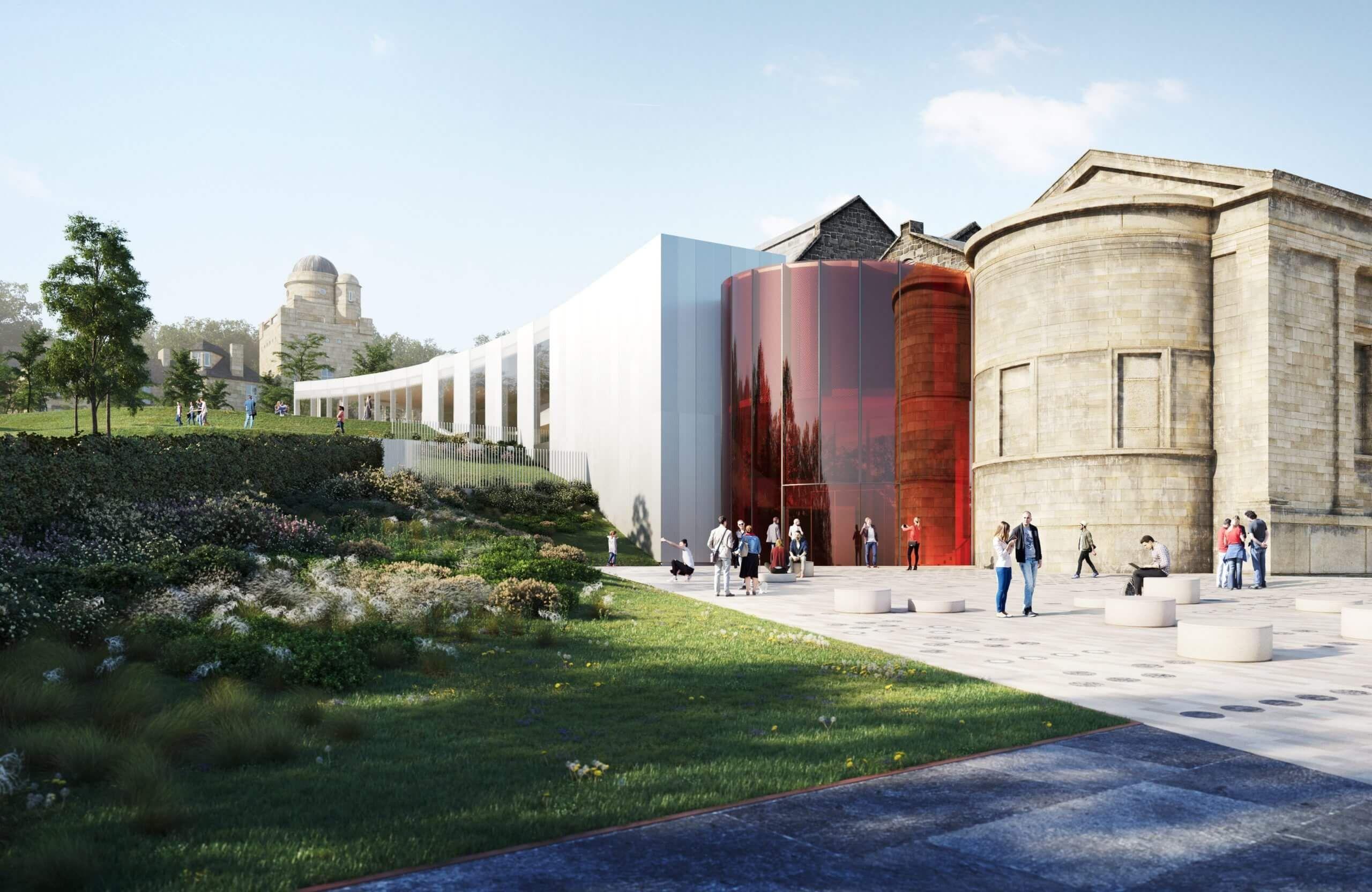 Paisley Museum ReImagined external design