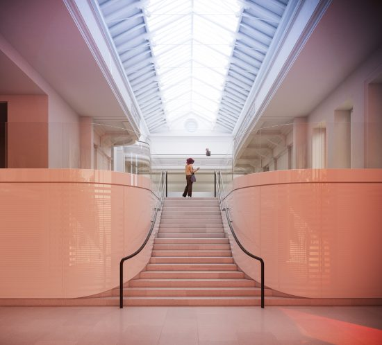 Inside the New Entrance