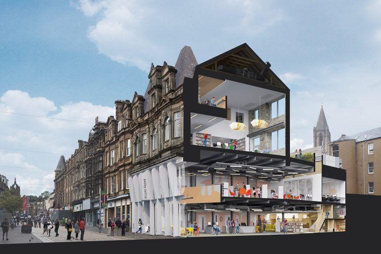 Artist Impression of New Cultural Learning Hub