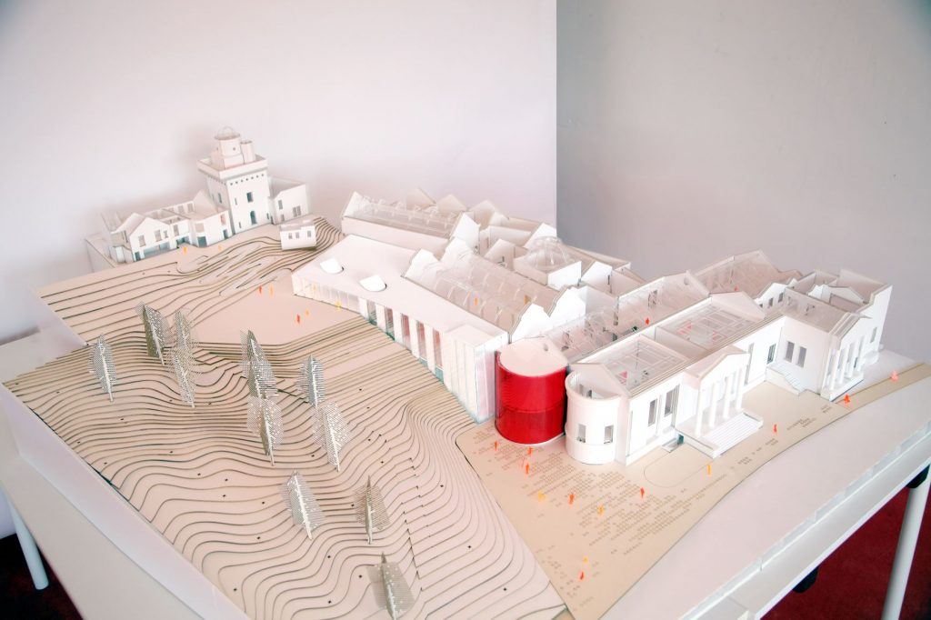 Model of Museum and Observatory