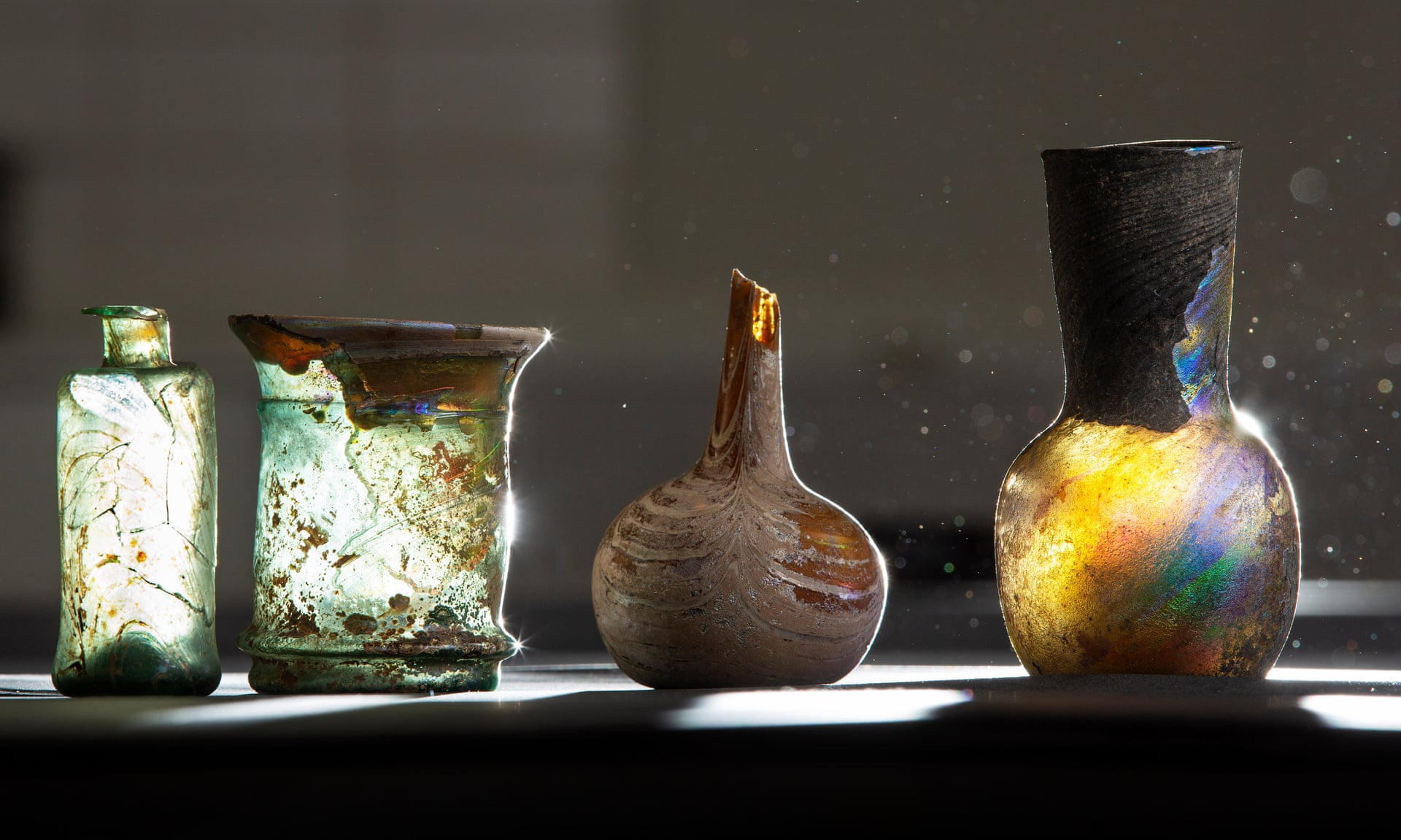 Items from the Syrian glass collection