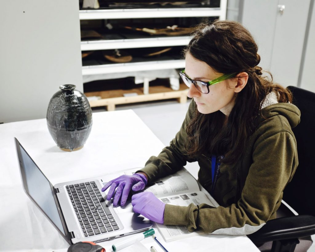 Get involved behind the scenes with the Museum collections